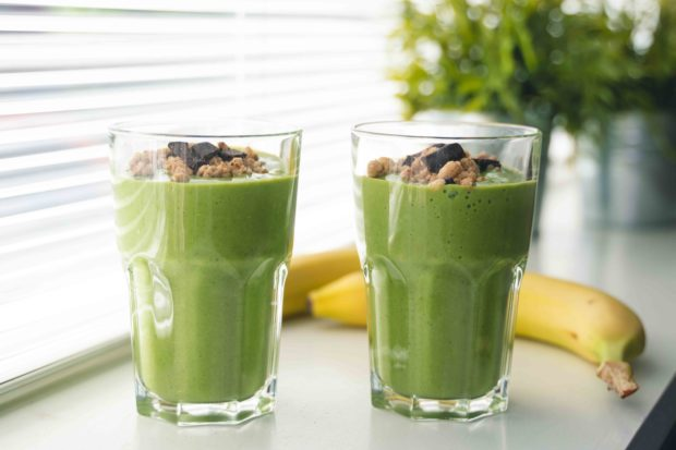 eiwitshake zelf maken tips groene smoothie