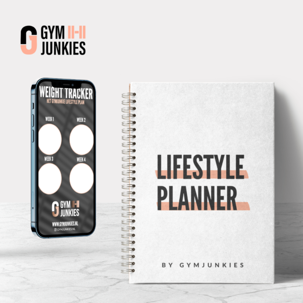 Gymjunkie Lifestyle Plan Planner