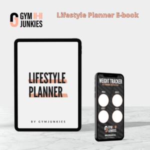 Gymjunkie Ebook Lifestyle planner kopen