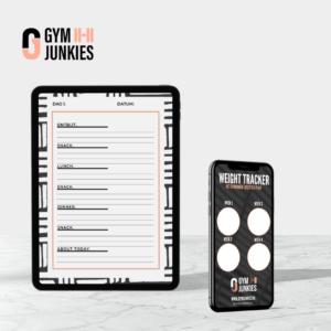 Gymjunkie ebook lifestyle planner