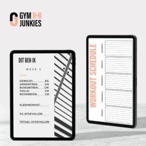 Gymjunkie lifestyle plan afvallen