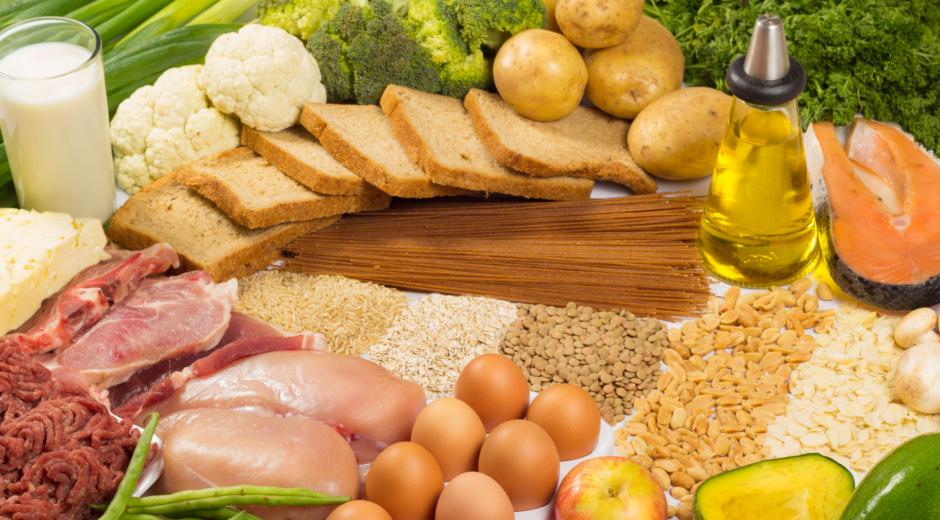 koolhydraten, eiwitten en vetten