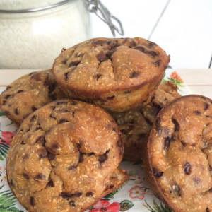 choco coco muffins