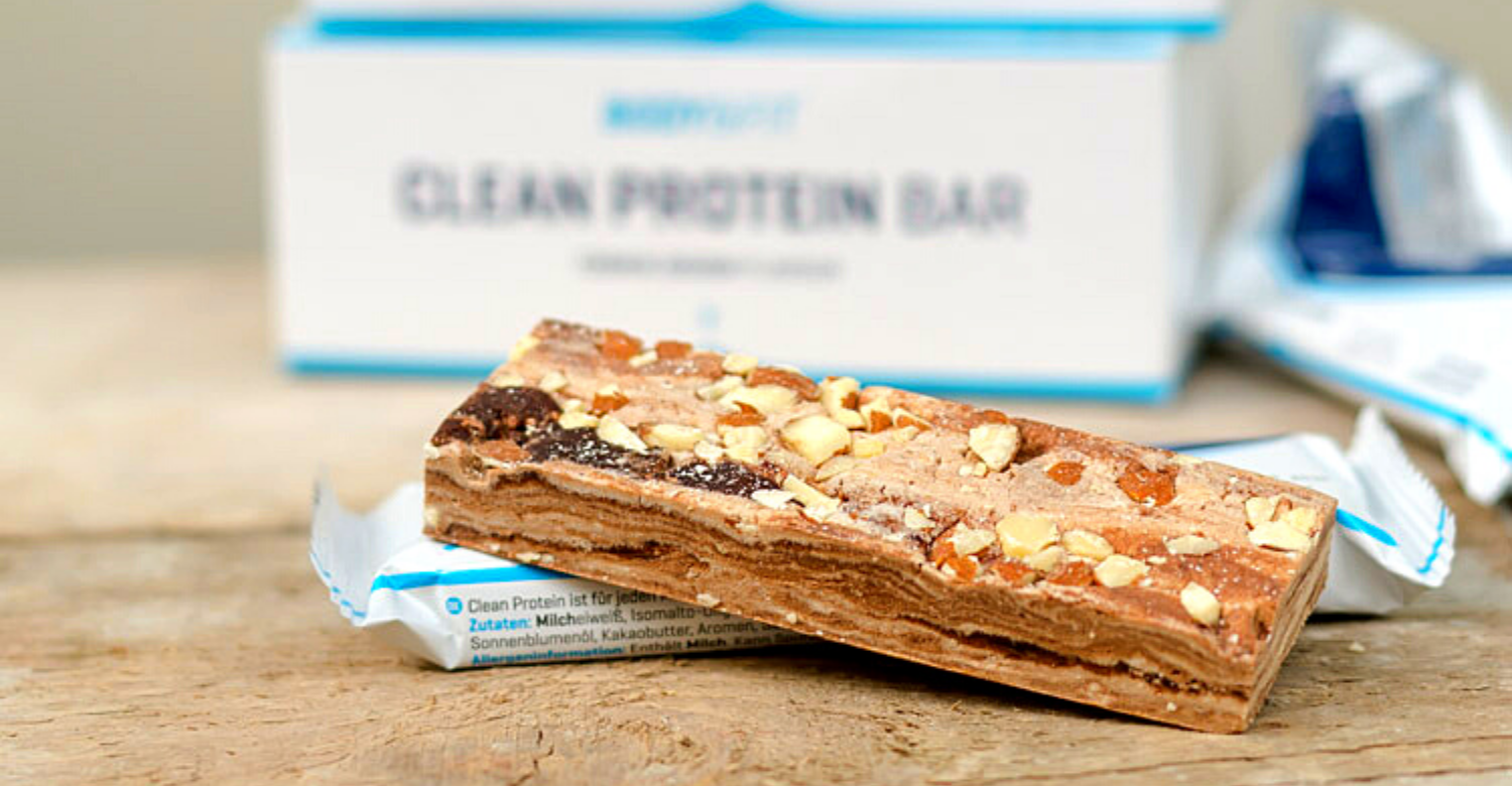 clean protein bar body&fit